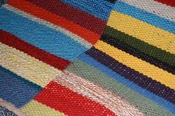 Lenas dubbelvävda matta